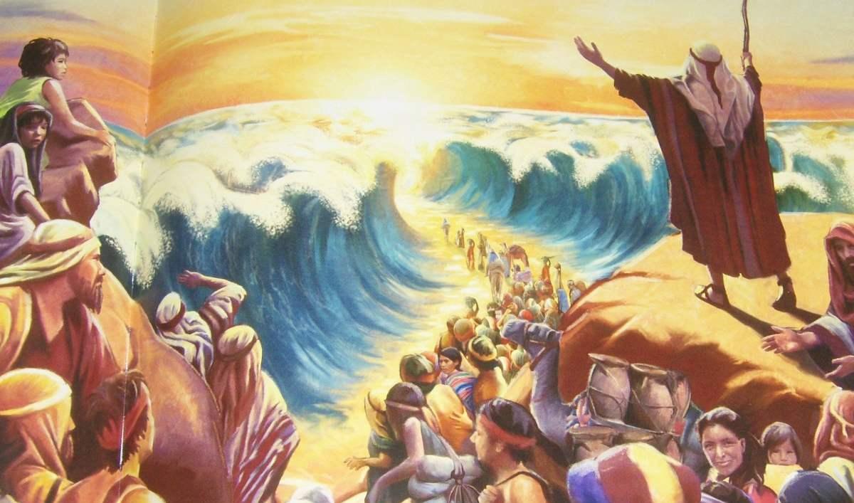 Цветная картинка из библии