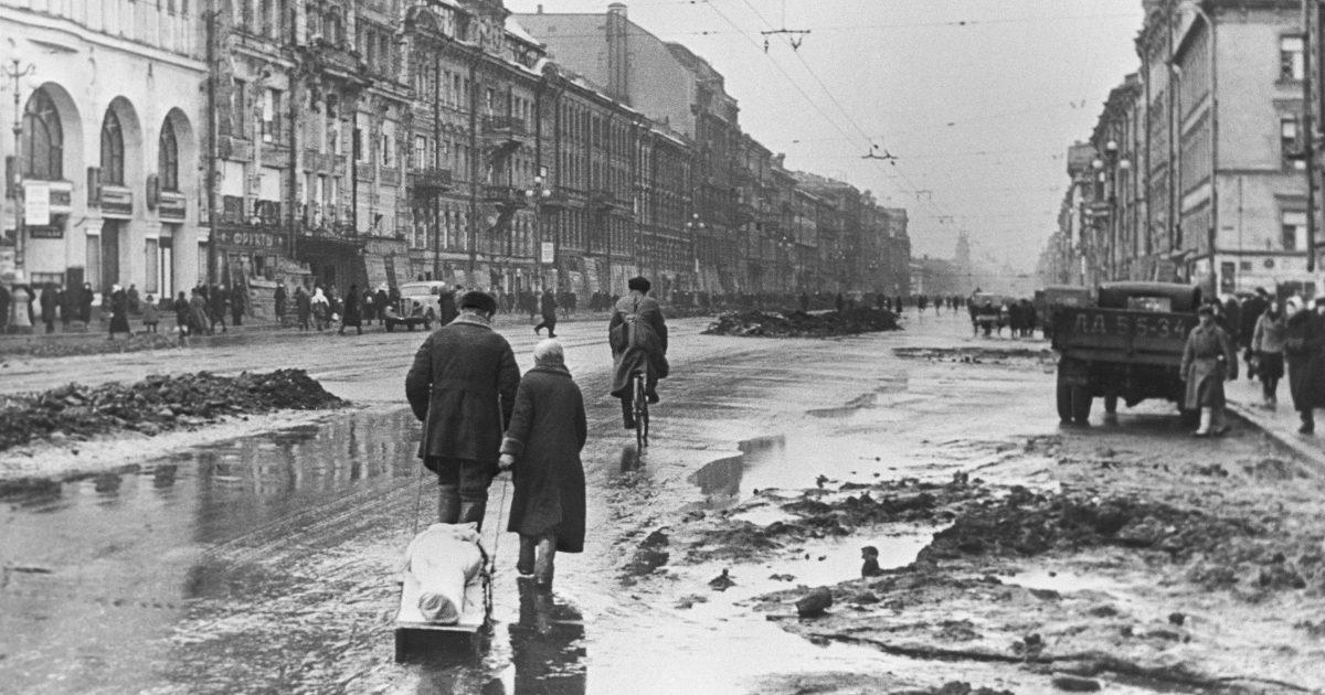 должны фото санкт петербурга в период блокады вас